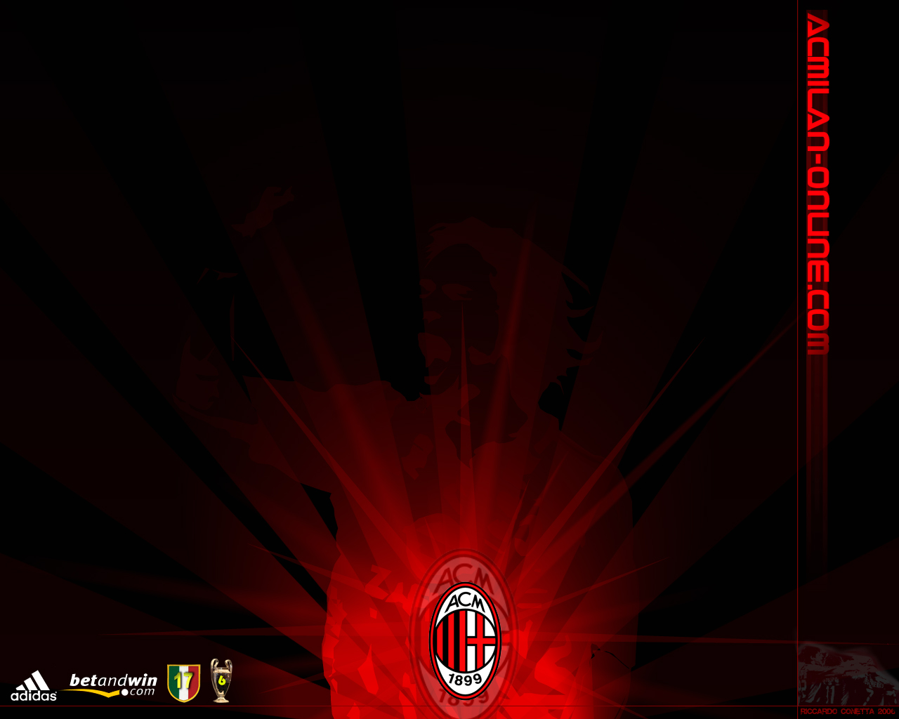 Hd wallpaper ac milan - Ac Milan Online Wallpaper