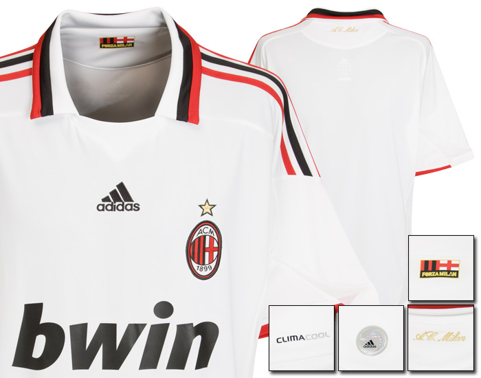 09-10 AC Milan Away Shirt