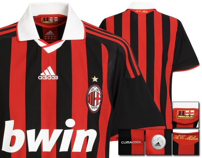 09-10 AC Milan Home Shirt
