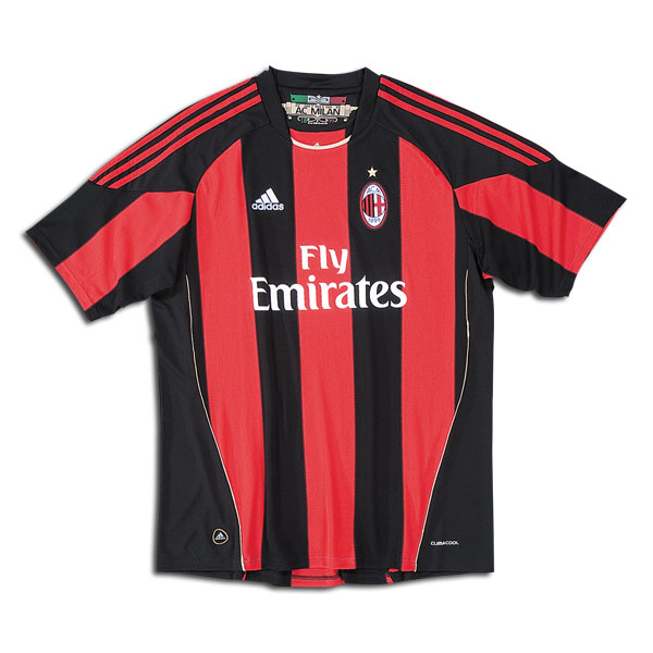 10-11 AC Milan Home Shirt